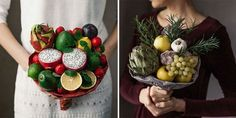 46 Stunning And Unique Bouquets You Can Actually Eat Diy Projects Cans, Heirloom Roses, Color Palate, Floral Headbands, Beautiful Wedding Cakes, Something Old, Style And Grace, Fresh Fruit, Color Inspiration