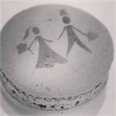 Macaron Personalizado ou não pode substituir o tradicional Bem Casado...este personalizado é uma Graça!