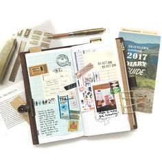 Travel journal pages and scrapbook inspiration - ideas for travel journaling, art journaling, and scrapbooking. Project Life Scrapbook, Scrapbook Journal, Journal Notebook, Travel Journal Pages, Travel Journals, Travel Photography Tumblr, Appreciation Post, Smash Book, Journal Inspiration