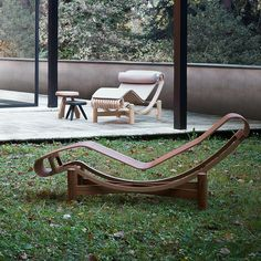 Tokyo chaise lounge, Charlotte Perriand, Cassina. The Tokyo chaise lounge was first conceived of during Perriand's time in Japan and envisioned...