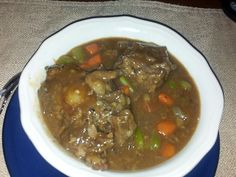 Ox Tail Soup :)