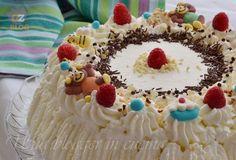 Torta+di+compleanno+con+mascarpone+e+nutella