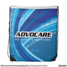Advocare Drawstring Backpack #advocare #bag