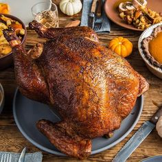 Slow Smoked Maple Bourbon Brined Turkey | Traeger Wood Fired Grills
