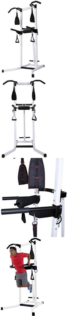 Pull Up Bars 179816: Multi-Functional Power Tower Pull Up Station Exercise Equipment Gym Home -> BUY IT NOW ONLY: $272.99 on eBay!