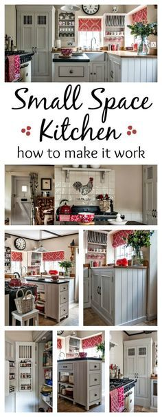 Small space kitchen - how to make it work