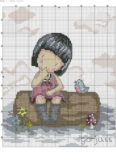 Gallery.ru / Фото #61 - μικρα - ergoxeiro Cross Stitch Boards, Just Cross Stitch, Cross Stitch Baby, Cross Stitching, Cross Stitch Embroidery, Embroidery Patterns, Modern Cross Stitch Patterns, Cross Stitch Designs, Stitch Doll