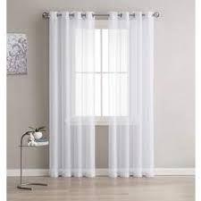 Sheer Curtains White