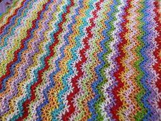Ravelry: MNakata45's Vintage Crocheted Blanket #2