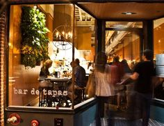 Curate bar de tapas ... Asheville. Nationally renowned restaurant of young rising star chef Katie Button. (@Dana Curtis McCormick- never been here but its the #1 rated restaurant in Asheville- the hubby isn't much of a tapas guy)
