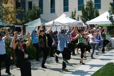 Instant Recess® during the farmers' market at Kaiser Permanente South Bay Medical Center