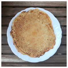 Egg free Crepes (also gluten & dairy free. Yes, for real! Swedish Pancakes, Egg Free, Crepes, Gluten Free Recipes, Sugar Free, Dairy Free, Pie, Eggs, Baking