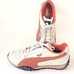 40d2f54a8cb0 Puma Temo Men s Leather Sneakers S 13 Beige Burnt Orange  Puma  Sneakers