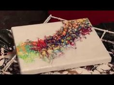 Negative Space Pour Painting Using Compressed Air (16) - YouTube