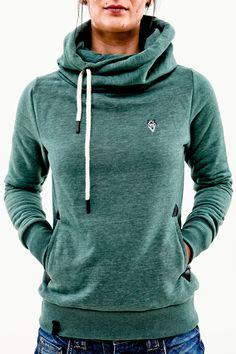Amazing cozy hoodie. LOVE the color.