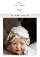 FREE on Ravelry: Children's Snowdrop Hat pattern by Susan Campbell