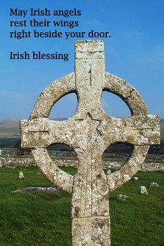 "Ireland - ancient magic -- ""May Irish angels rest their wings right beside your door."" -- Irish blessing – image taken in Ireland by Florence McGinn Erin Go Braugh, Irish Quotes, Irish Sayings, Fun Sayings, Irish Proverbs, Irish Eyes Are Smiling, Irish Celtic, Celtic Art, Celtic Symbols"