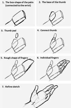 Learn To Draw People - The Female Body - Drawing On Demand Hand Drawing Reference, Anatomy Reference, Art Reference Poses, Design Reference, Drawing Lessons, Drawing Techniques, Drawing Tips, Drawing Hands, Drawing Ideas