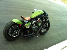 Harley Sportster Custom Cafe Race... Nice