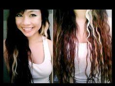 Overnight no heat rope braid waves Heatless Hairstyles, No Heat Hairstyles, Heatless Curls, Braided Hairstyles, Curly Hair Overnight, Overnight Curls, Waves Curls, Heat Waves, Hair With Flair