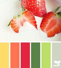 strawberry brights  Shelby Cottage