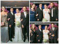 Padrinhos Wellington Muniz, Eduardo Sterblitch e Celso Portiolli - Casamento Gabriela Baptista e Rodrigo Scarpa