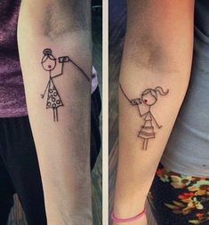 Stellar Quirky Sibling Tattoo Trends