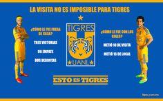 La visita no es imposible para Tigres en Libertadores
