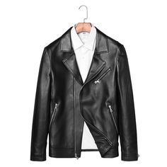 37fe8cb530fb Find More Genuine Leather Coats Information about Hot Sale 100% Quality Genuine  Sheepskin Leather Men