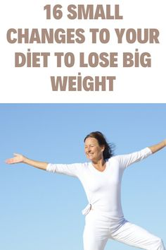 16 Small Changes To Your Diet To Lose Big Weight Weight Loss Challenge, Weight Loss Goals, Weight Loss Motivation, Weight Loss Journey, Lose Weight In A Month, Simple Math, Small Changes, Weight Loss Inspiration, Weight Loss Transformation