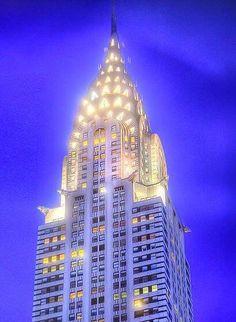 Chrysler Building - Manhattan, New York / Vereinigte Staaten von Amerika / United States of America / USA