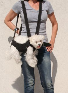 Hey, I found this really awesome Etsy listing at https://www.etsy.com/listing/199352058/pet-carrier-crochet-dog-carrier-bubadog