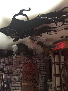 My own props- Halloween 2016- Harry Potter- Diagon alley details
