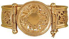 The Met Store - Byzantine Vine Leaf Cuff Bracelet