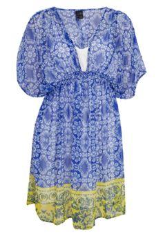 Vestido MNG Barcelona Cuzco Azul