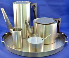 Arne Jacobsen STELTON Cylinda Line Danish Mid Century by ceclay, $425.00