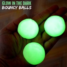 Kids are going to love these fun DIY Bouncy Balls. Learn how to make a bouncy ball! Glow in the dark bouncy balls are so cool! Once you know how to make bouncy balls, it's so simple and fun to do! Glow Party Food, Glow Stick Party, Fun Indoor Activities, Craft Activities For Kids, Steam Activities, Summer Crafts For Kids, Diy For Kids, Summer Fun, Cool Science Experiments