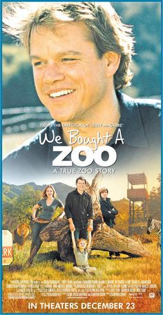 We Bought a Zoo. Recommend!