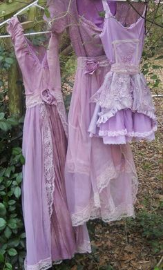 Shades of lavender and lilac