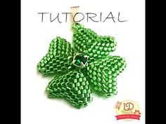 Seed bead jewelry Quadrifoglio - ~ Seed Bead Tutorials Discovred by : Linda Linebaugh Beading Projects, Beading Tutorials, Jewelry Patterns, Beading Patterns, Ideas Joyería, Beading Techniques, Peyote Beading, Beaded Ornaments, Seed Bead Jewelry