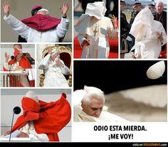 Las verdaderas razones por las cuales Benedicto XVI deja de ser Papa.