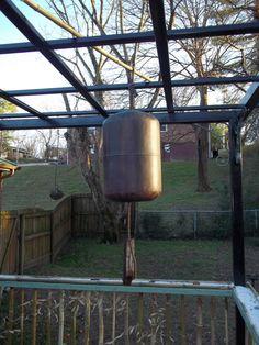 Zen Bell (upcycled propane tank)