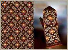 Mittens Pattern, Knit Mittens, Mitten Gloves, Knitting Socks, Floral Tie, Knitting Patterns, Stitch, Boho, Crochet