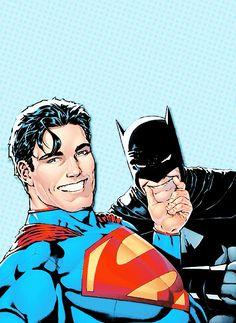"ccavill: "" Batman/Superman #14 - 'Selfie' Variant """