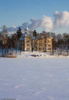 Villa Kivi. The countryside in downtown Helsinki