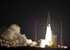 Foguete Ariane 5 lançado com sucesso
