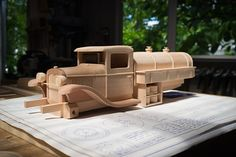 Gas & Oil Truck | Made from Toys and Joys plan. | 45South | Flickr Awesome Woodworking Ideas, Woodworking Plans, Woodworking Projects, Wooden Toy Cars, Wood Toys, Pinewood Derby, Diy Toys, Cool Websites, Wood Carving