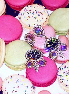 macaroons + mirabel earrings // @mhigham