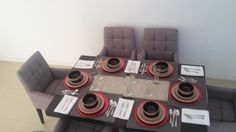 Dine with your family in a table like this in a Beautiful and Comfortable Home like this!