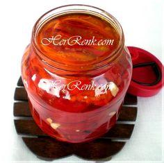 Yağlı Kırmızı Biber Turşusu-anlatımlı,turşu tarifleri,kırmızıbiber turşusu,roasted peppers recipe, fırında közlenmiş, sirkeli,kahvaltılık biber turşusu,turşu nasıl yapılır,reçetesi, resimli,tarifi,turşusu, kırmızıbiber turşusu, közlenmiş kırmızı biber turşusu, sirkeli biber turşusu, yağlı biber turşusu, kahvaltılık kırmızıbiber turşusu, közlenmiş biber turşusu, Artemis, Jar, Pasta, Honey, Jars, Glass, Pasta Recipes